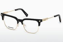 Dsquared2 Brille » DQ5214«, braun, 055 - havana