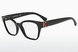 Emporio Armani Damen Brille » EA3128«, rot, 5664 - rot