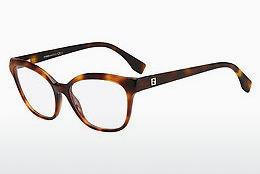 FENDI Fendi Damen Brille » FF 0235«, braun, AB8 - havana
