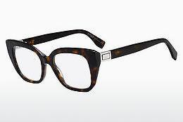 FENDI Fendi Herren Brille » FF 0220«, braun, 086 - havana