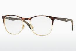 RAY BAN RAY-BAN Herren Brille » RX8745D«, braun, 1020 - braun