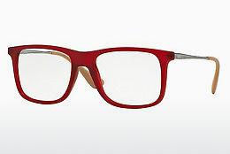 Designerbrillen Ray-Ban RX7054 5525 - Rot