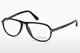 Designerbrillen Tom Ford FT5380 001 - Schwarz, Shiny