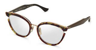 DITA DTX-500 02 Dark Tortoise-Burnt Brown Back - White Gold