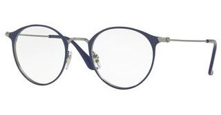 Ray-Ban RX6378 2906 GUNMETAL/SHINY BLUE