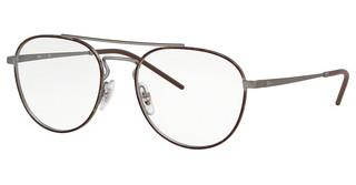 Ray-Ban RX6414 3043 TOP HAVANA ON RUBBER GUNMETAL