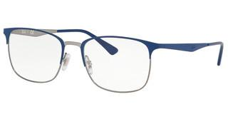 Ray-Ban RX6421 3041 TOP MATTE BLUE ON SHINY GUNMET