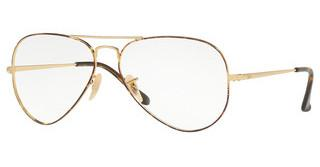 Ray-Ban RX6489 2945 GOLD TOP ON HAVANA