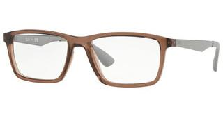 Ray-Ban RX7056 5813 TRASP BROWN