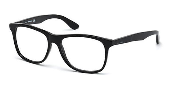 Diesel Brille » DL5242«, schwarz, 001 - schwarz