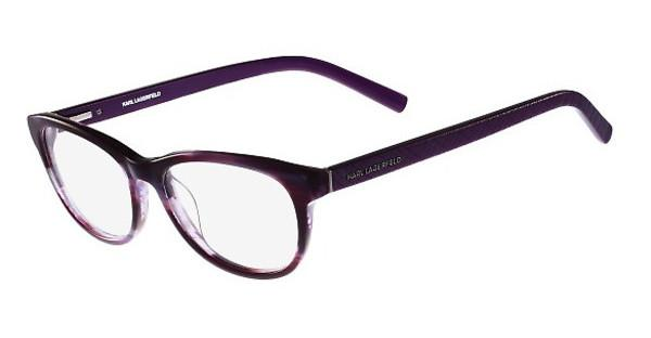 Karl Lagerfeld   KL890 049 STRIPED VIOLET