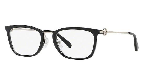 MICHAEL KORS Michael Kors Damen Brille »CAPTIVA MK4054«, schwarz, 3005 - schwarz
