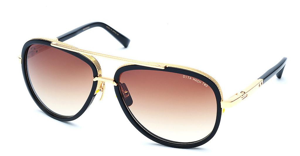 DITA   DRX-2031 B D.Brown to Clear-ARShiny 18K Gold - Black