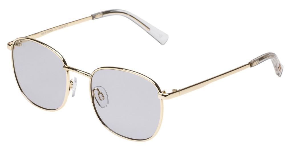 Le Specs   NEPTUNE LSP1802490 GREY TINT GOLD FLASH LENS CAT.1BRIGHT GOLD