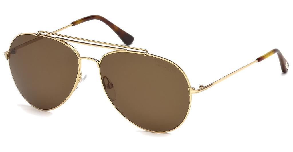 Tom Ford   FT0497 28H braun polarisierendrosé