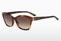 Boss Orange Herren Sonnenbrille » BO 0270/S«, grün, JC7/T4 - grün/schwarz