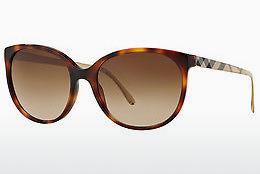 Sonnenbrille Burberry BE4146 340713 - Braun, Havanna