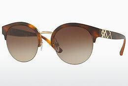 Sonnenbrille Burberry BE4241 338213 - Gold, Braun, Havanna