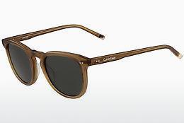 Calvin Klein Sonnenbrille » CK18101S«, braun, 071 - havana