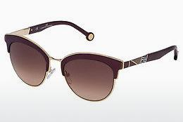 Sonnenbrille Carolina Herrera SHE101 0A93 - Gold