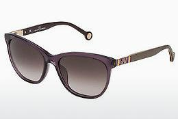 Sonnenbrille Carolina Herrera SHE691 0916 - Purpur