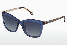 Sonnenbrille Carolina Herrera SHE746 0955 - Blau, Transparent