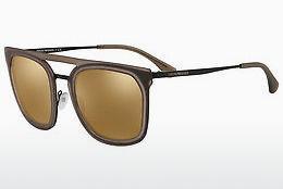 Emporio Armani Herren Sonnenbrille » EA2062«, schwarz, 30017D - schwarz/braun