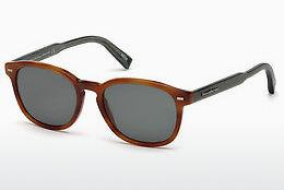 Sonnenbrille Ermenegildo Zegna EZ0005 53N - Havanna, Yellow, Blond, Brown