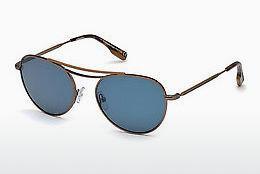 Ermenegildo Zegna Herren Sonnenbrille » EZ0103«, schwarz, 08N - schwarz/grün