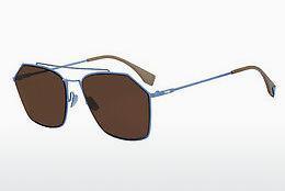 FENDI Fendi Herren Sonnenbrille » FF M0017/S«, rot, C9A/70 - rot