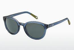 Fossil Herren Sonnenbrille » FOS 2050/P/S«, schwarz, QE8/RA - schwarz/grau