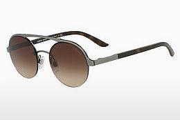 Giorgio Armani Damen Sonnenbrille » AR6050«, grau, 301071 - grau/grün