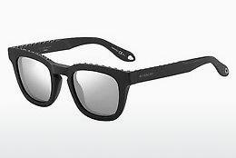 GIVENCHY Givenchy Damen Sonnenbrille » GV 7025/F/S«, schwarz, 807/EJ - schwarz/braun
