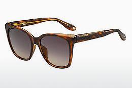 GIVENCHY Givenchy Herren Sonnenbrille » GV 7101/F/S«, braun, 086/QT - braun/grün