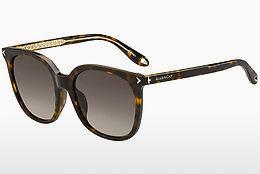 GIVENCHY Givenchy Herren Sonnenbrille » GV 7100/F/S«, schwarz, 807/70 - schwarz
