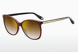GIVENCHY Givenchy Damen Sonnenbrille » GV 7084/F/S«, schwarz, WR7/HA - schwarz/braun