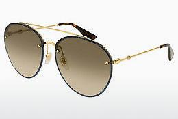 Sonnenbrille Gucci GG0351S 002 - Gold