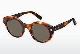 Max Mara Damen Sonnenbrille » MM WAND FS«, rosa, Q9E/JL - rosa/ gold