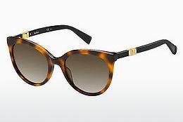Max Mara Damen Sonnenbrille » MM DOTS II«, gelb, C9B/HA - gelb/braun