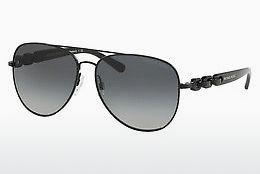 MICHAEL KORS Michael Kors Damen Sonnenbrille »PAPHOS MK5005«, schwarz, 11226E - schwarz/gold