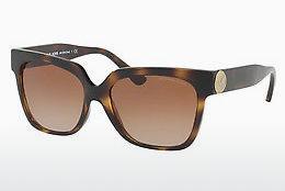 MICHAEL KORS Michael Kors Damen Sonnenbrille »VILLEFRANCHE MK2003B«, schwarz, 300587 - schwarz/grau