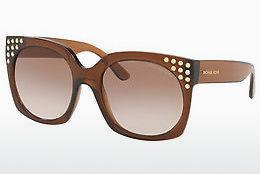 MICHAEL KORS Michael Kors Damen Sonnenbrille »DESTIN MK2067«, braun, 334813 - braun/ orange