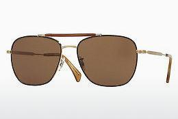 Sonnenbrille Paul Smith ROARK (PM4079S 524573) - Braun, Gold