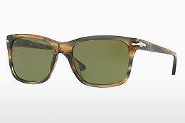 PERSOL Persol Herren Sonnenbrille » PO3135S«, braun, 10494E - braun/grün