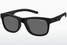 Polaroid Herren Sonnenbrille » PLD 2031/S«, schwarz, CVS/Y2 - schwarz/grau