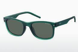 Polaroid Sonnenbrille » PLD 6024/S«, weiß, VK6/LB - weiß/grün