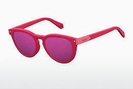 Polaroid Damen Sonnenbrille » PLD 4058/F/S«, rot, LHF/JR - rot/rot