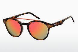 Polaroid Damen Sonnenbrille » PLD 6043/S«, blau, PJP/5X - blau/blau