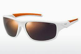 Sonnenbrille Polaroid Sports PLD 7010/S IXN/OZ - Weiß, Orange