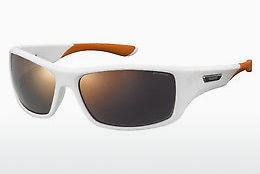 Sonnenbrille Polaroid Sports PLD 7013/S IXN/OZ - Weiß, Orange